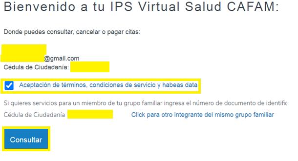 Cafam Virtual Ips
