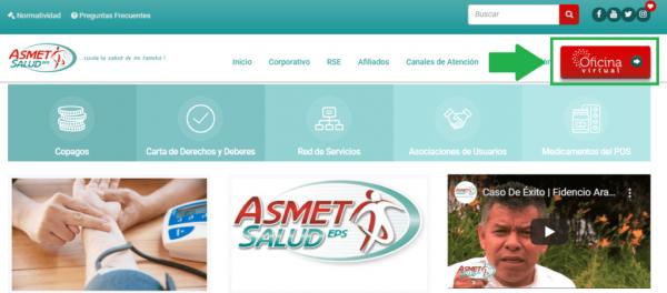 Citas médicas Asmet Health