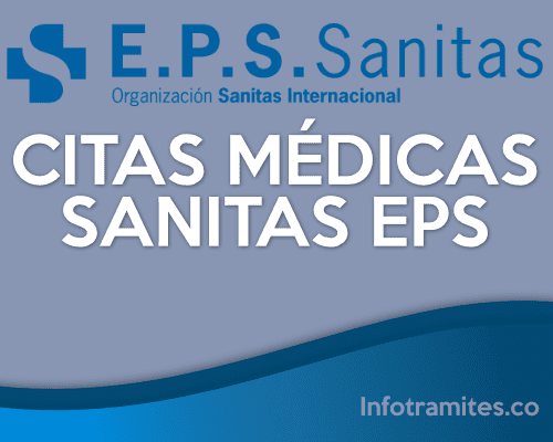 Citas médicas con Sanitas Eps