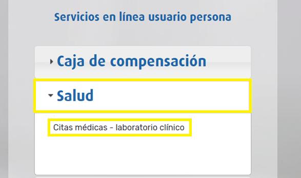 Citas medicas online Cafam